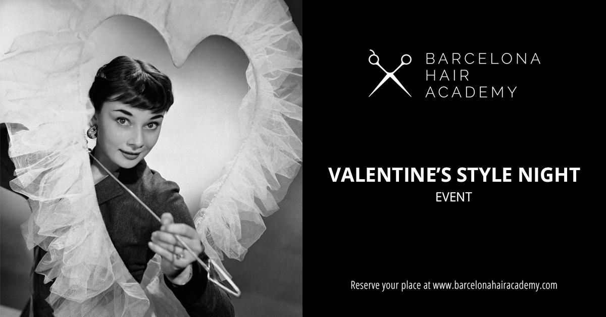 Barcelona Hair Academy Valentine date event