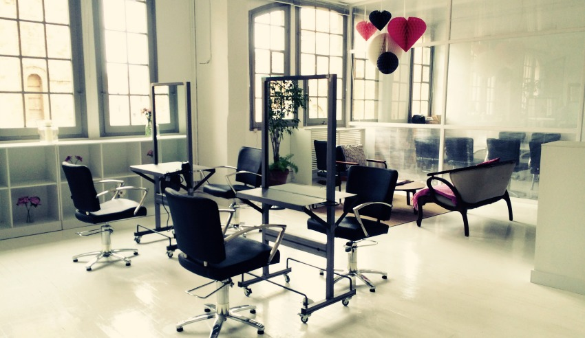 barcelona hair academy pop-up hair salon