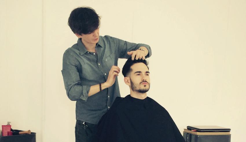 barbering course barcelona hair academy