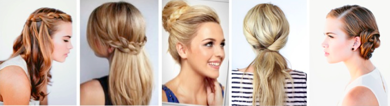 5 Easy Hairstyles You Can Do At Home